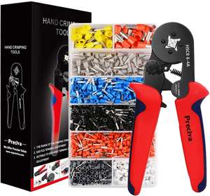 Preciva Crimper Plier Set for £17.84 prime / £22.33 non prime Sold by Hengsheng UK and Fulfilled by Amazon.