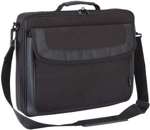 "Targus Classic Clamshell Bag with Handles for up to 15.6"" laptops, £9 at Amazon (+£4.49 non prime)"