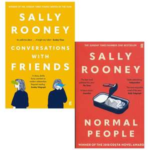 Sally Rooney 2 books at Books4People for £13.44 delivered