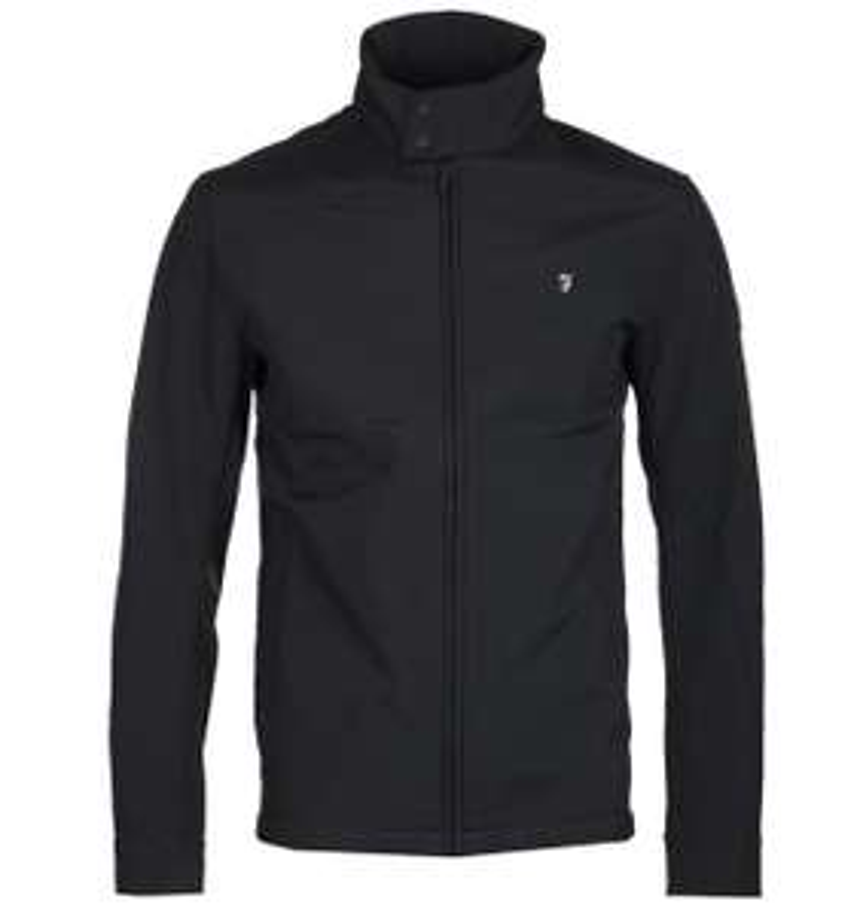 Farah Cormack Blouson Deep Black Zip Jacket £32.95 delivered at Brown Bag Clothing