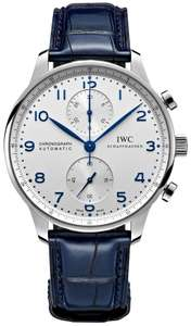 IWC Portugieser Chronograph Gents Watch (choice of 3 colours) £5565 @ Banks Lyons
