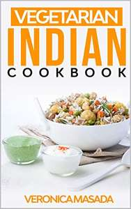 free Kindle book: Vegetarian Indian cookbook: 48 illustrated vegetarian recipes @ Amazon