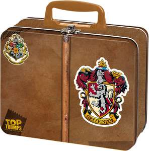 Harry Potter Gryffindor Top Trumps Collectors Tin Card Game £5 (+£4.49 NP) Delivered @ Amazon