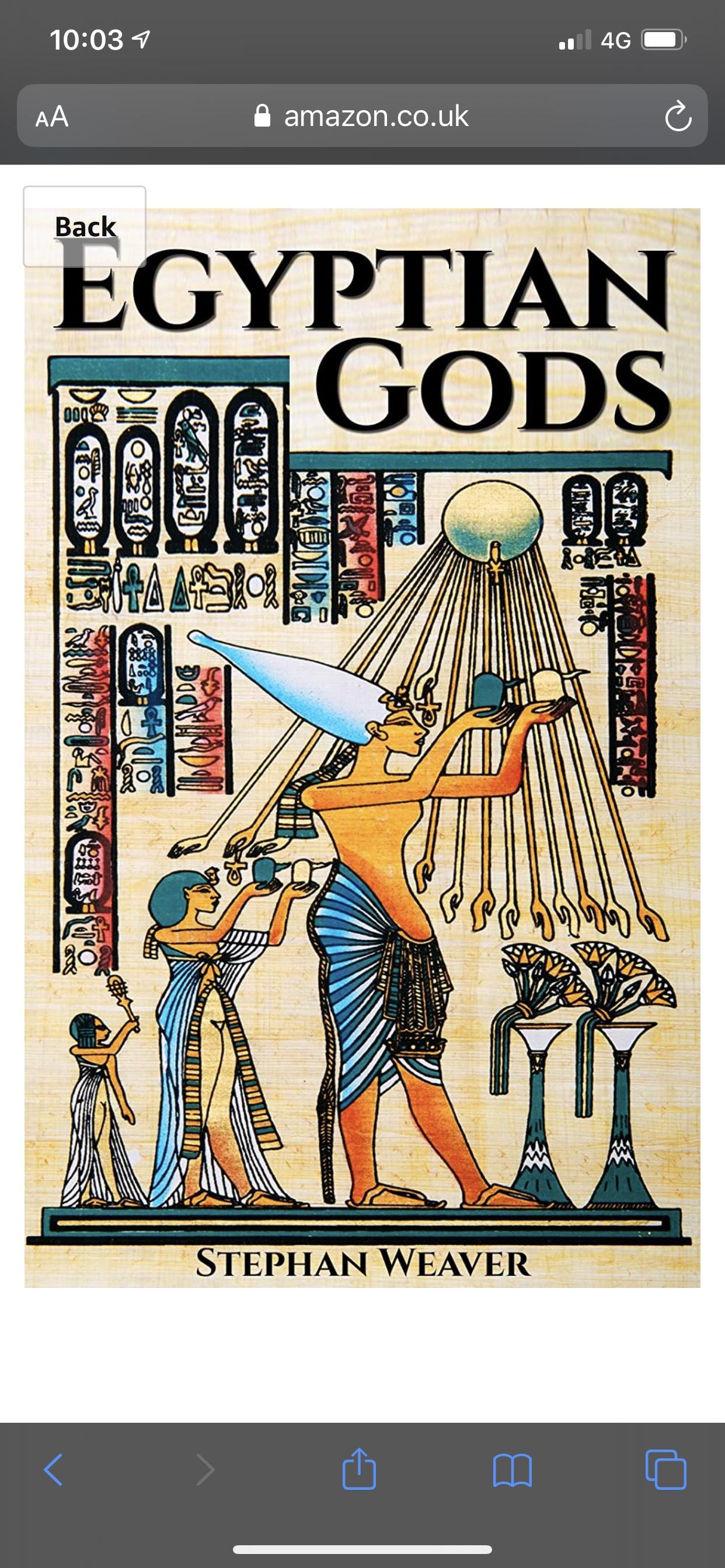 Egyptian Gods: Discover the Ancient Gods of Egyptian Mythology - Free on Kindle