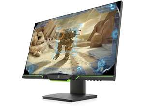 """HP 27XQ Gaming Monitor - 1440p 144Hz 27"""" 1ms TN - £299 / £269.10 with UNiDAYS Discount at HP Shop"""
