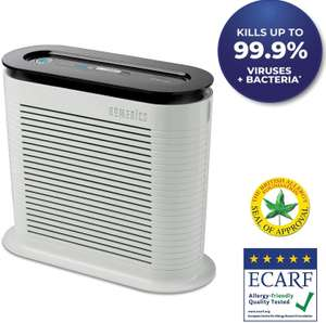 HoMedics True HEPA Air Purifier Eliminates 99.97% of Allergens, Germs, Bacteria & Viruses, Relief From Allergies & Asthma - £37.97 @ Amazon
