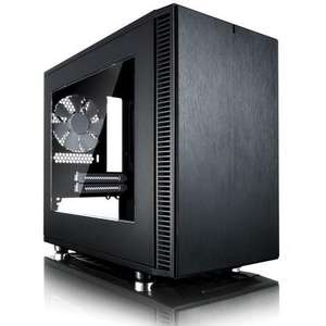 Fractal Design Define Nano S Black ITX Tower Case with Window, £59.97 at Laptops Direct