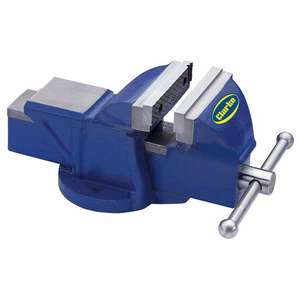 5 inch Clarke CV125BL Fixed Base Bench Vice £34.98 delivered @ Machine Mart