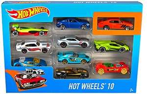 Hot Wheels 10 Car Pack Assortment 54886 (Pack May Vary) £10 Prime (+£4.49 Non Prime) @ Amazon