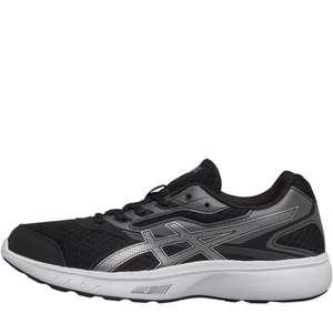 ASICS Womens Stormer Neutral Running Shoe Black/Silver/White £34.98 delivered (£29.99 for delivery pass members) @ MandM Direct