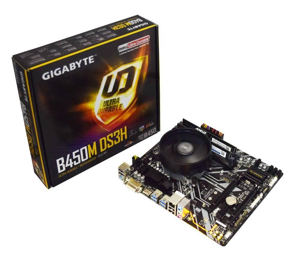 AMD Ryzen 3 3100 Quad Core 3.9GHz, Gigabyte B450M DS3H Motherboard CPU Bundle - £164.99 @ AWD-IT