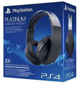 Official Sony PS4 Platinum Wireless Headset on PlayStation 4 - £109.85 @ SimplyGames
