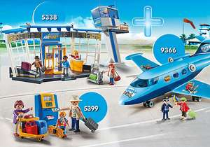 Playmobil Bundle Airport + FunPark Summer Jet + Family at Check-In £31.99 using code @ Playmobil Shop