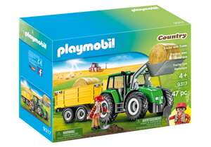 Playmobil 9317 Tractor with Trailer (Farms & Animals, Playsets) Age 4+ £24.99 at Playmobil uk ebay