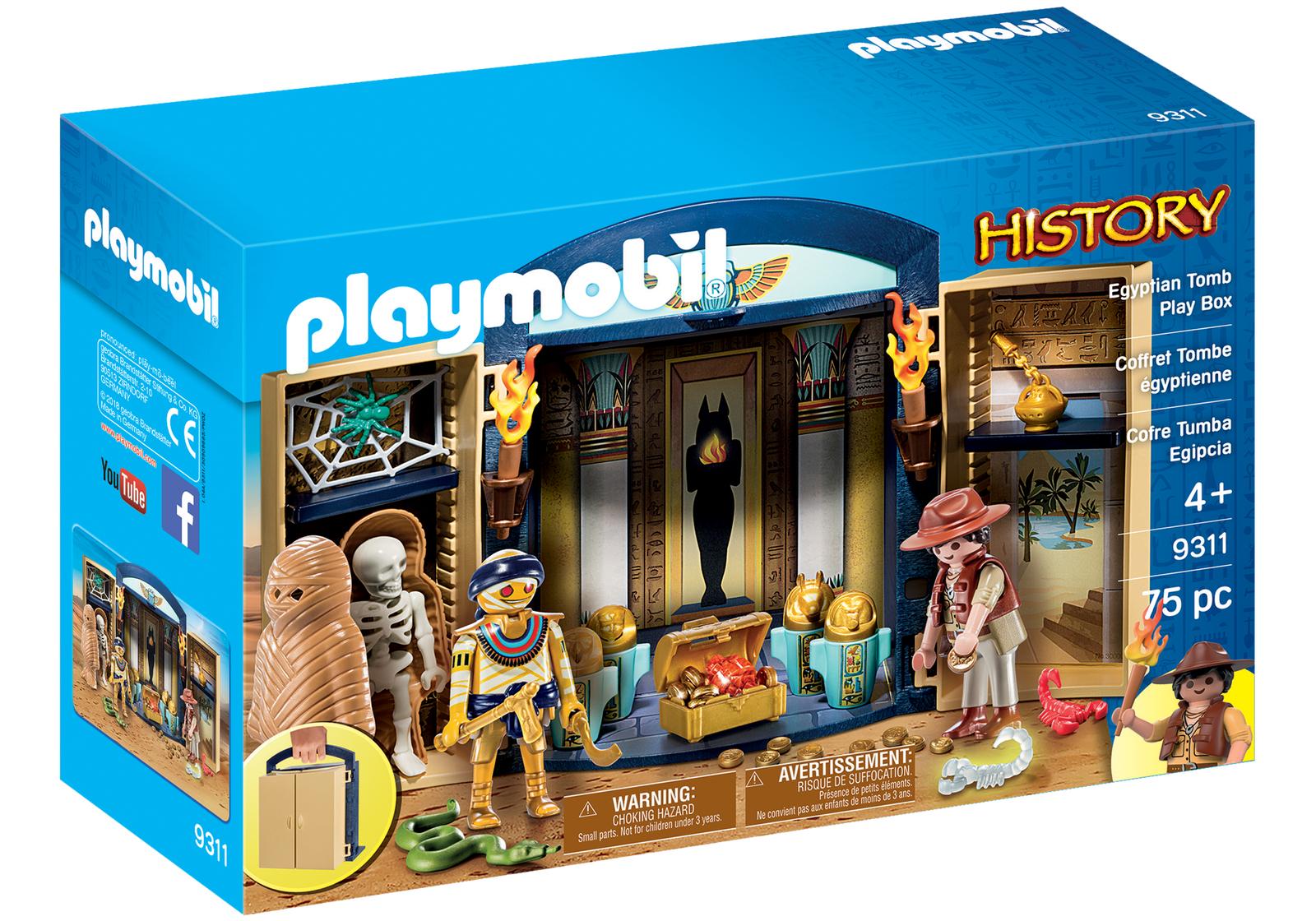 Playmobil 9311 History Egyptian Tomb Play Box 4+ £19.99 @ playmobiluk / eBay