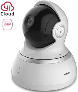 YI Dome Camera 1080p HD Pan/Tilt/Zoom Wireless CCTV £34.99 - Sold by Seeverything UK and Fulfilled by Amazon.