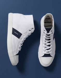 Men's Canvas Hi Top Trainers - £19 & Free Delivery (With Code) at Crew Clothing