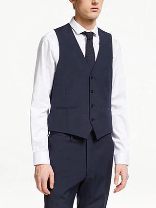 Kin Miller Pindot Slim Fit Waistcoat, Navy at John Lewis £5 +£3.50 delivery @ John Lewis & Partners