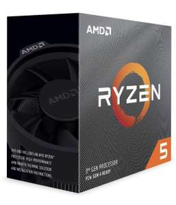 AMD Ryzen 5 3600 Processor (6C/12T, 35 MB Cache, 4.2 GHz Max Boost) £156.99 @ Amazon