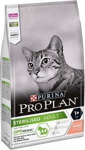 PRO PLAN Sterilised Cat Salmon 1.5kg £3.50 intore @ Pets At Home (Barry)