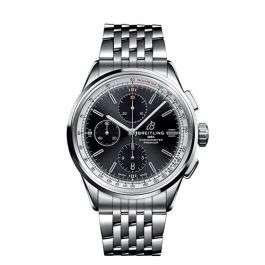 Breitling Premier Chronograph 42 Steel Black 42 mm Automatic £3780 @ Hugh Rice