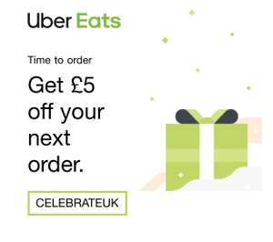 £5 off Uber Eats order with code (invite only)