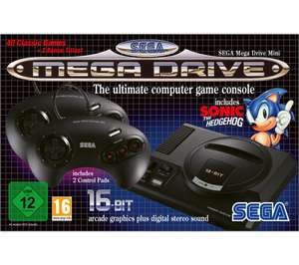 SEGA Mega Drive Mini inc 42 built in games £44.99 with code + 6 months Spotify Premium (new account) @ Currys