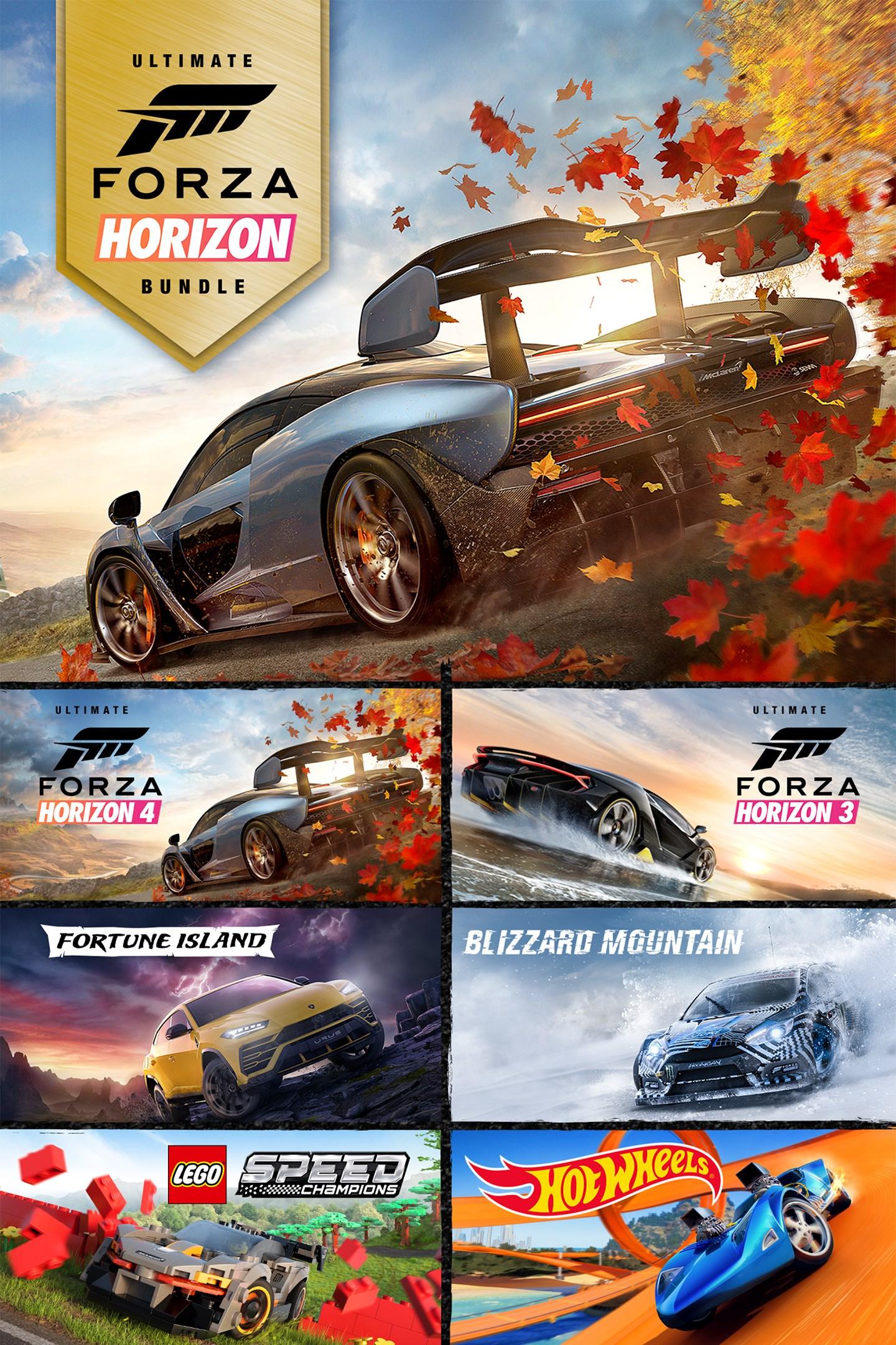 Forza Horizon 4 and Forza Horizon 3 Ultimate Editions Bundle £48.99 @ Xbox Store
