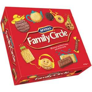 Family Circle Biscuits 620g for £1.49 @ Farmfoods