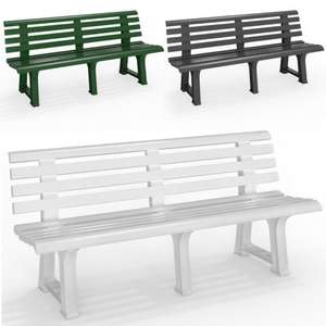 Orchidea Garden Bench in 3 colours £48.95 Delivered From Deuba XXL