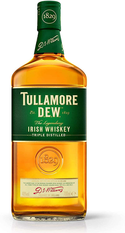 Tullamore D.E.W. Irish Whiskey, 70 cl   Bushmills Original Irish Whiskey, 70 cl £16 Each (+£4.49 NP) Delivered @ Amazon
