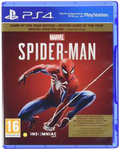 Marvel's Spider-Man: Game Of The Year Edition (English/Arabic Box) (PS4) - £9.95 (Prime) / +£4.49 (Non Prime) delivered @ Amazon