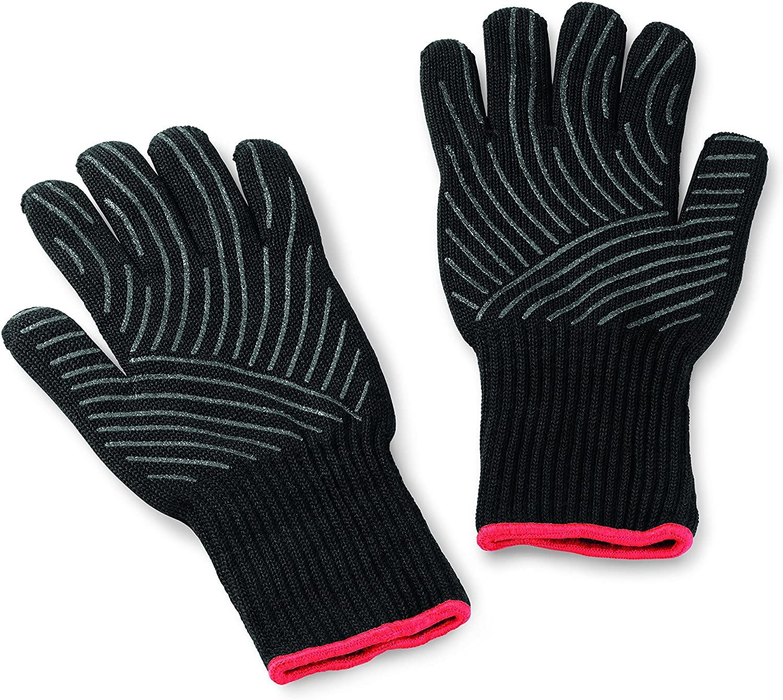 Weber Premium Gloves, Size L/XL, black, heat resistant - £34.99 at Amazon