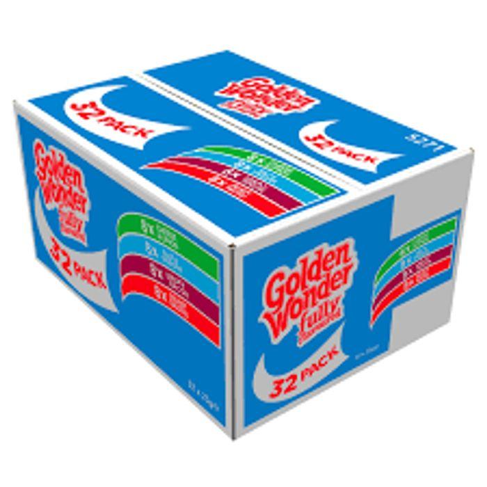 Golden Wonder Crisps 32 Assortment Box £3.99 at Farmfoods ( little hulton )