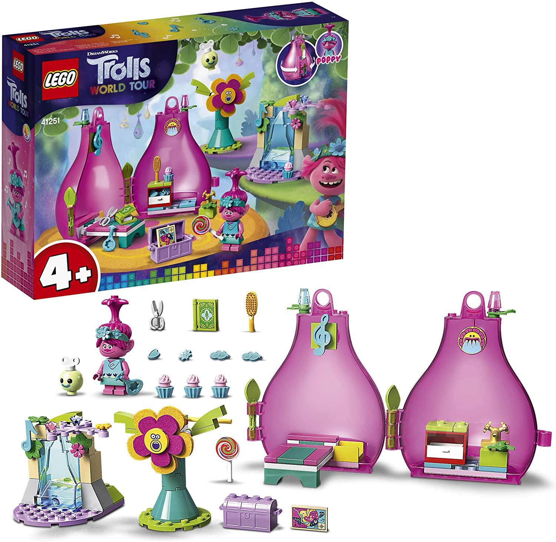 LEGO 41251 Trolls World Tour Poppy's Pod Playhouse Playset - £15 Prime / +£4.49 non Prime @ Amazon