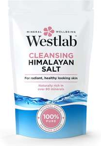 Westlab Himalayan Cleansing Salt Stand Up Pouch, 1Kg - £2.30 (+ £4.49 P&P non-Prime) @ Amazon