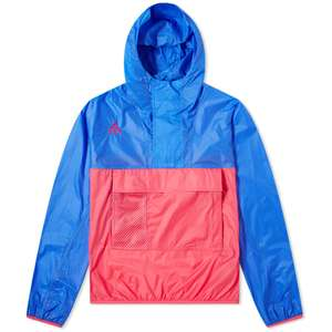 Nike ACG hooded anorak Hyper royal / rush pink - £39 / £41.95 delivered @ End Clothing