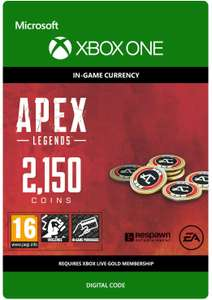 APEX Legends: 2150 Coins | Xbox One - Download Code - £8.79 @ Amazon