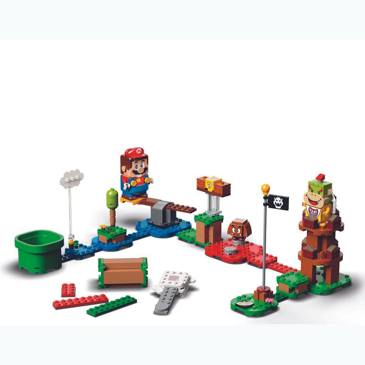 Lego Mario Set inc Free Mini-Set (Pre-Order) £42.50 & Free Delivery at TheToyShop.com (The Entertainer)