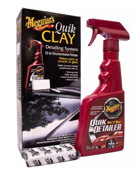 Meguiars Quik Clay Starter Kit £16.80 + £3.99 del at Halfords