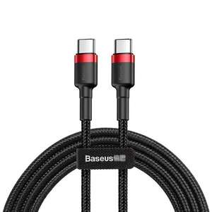 Baseus 1m Type-C PD2.0 QC3.0 60W Flash Charging Data Cable 20V / 3A - £1.43 delivered @ GeekBuying
