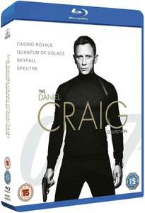 James Bond - The Daniel Craig Collection 4-Pack (Blu-ray) £10.49 at Base.com