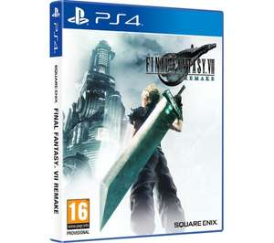 Final Fantasy VII Remake (PS4) + Free 6 month Spotify Premium (new accounts) £39.99 Delivered @ Currys PC World