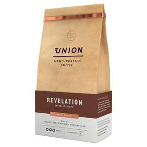 Union Revelation Wholebean coffee 200g £3.33 + £0 delivery with smart pass @ Ocado