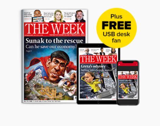 The Week 6 free issues + usb desk fan