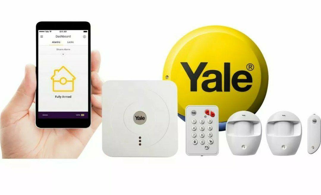 YALE SR-320 Smart Home Alarm Kit - £130.97 @ eBay / Currys