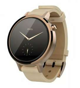 Brand New Motorola Moto 360 Rose Gold 2nd Gen Smartwatch 42mm Blush Leather Band - £69.99 @ Supreme Mobile Ebay