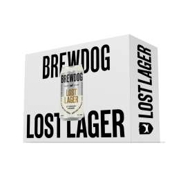 48 Cans of Brewdog Lost Lager only £40.33 delivered with code at Brewdog! (Effectively 84p per can)