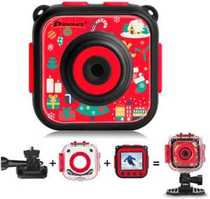 DRGORACE Kids Camera Waterproof Action Camera 1080P HD Video Camcorder £12.74 Sold by DROGRACE - UK and Fulfilled by Amazon