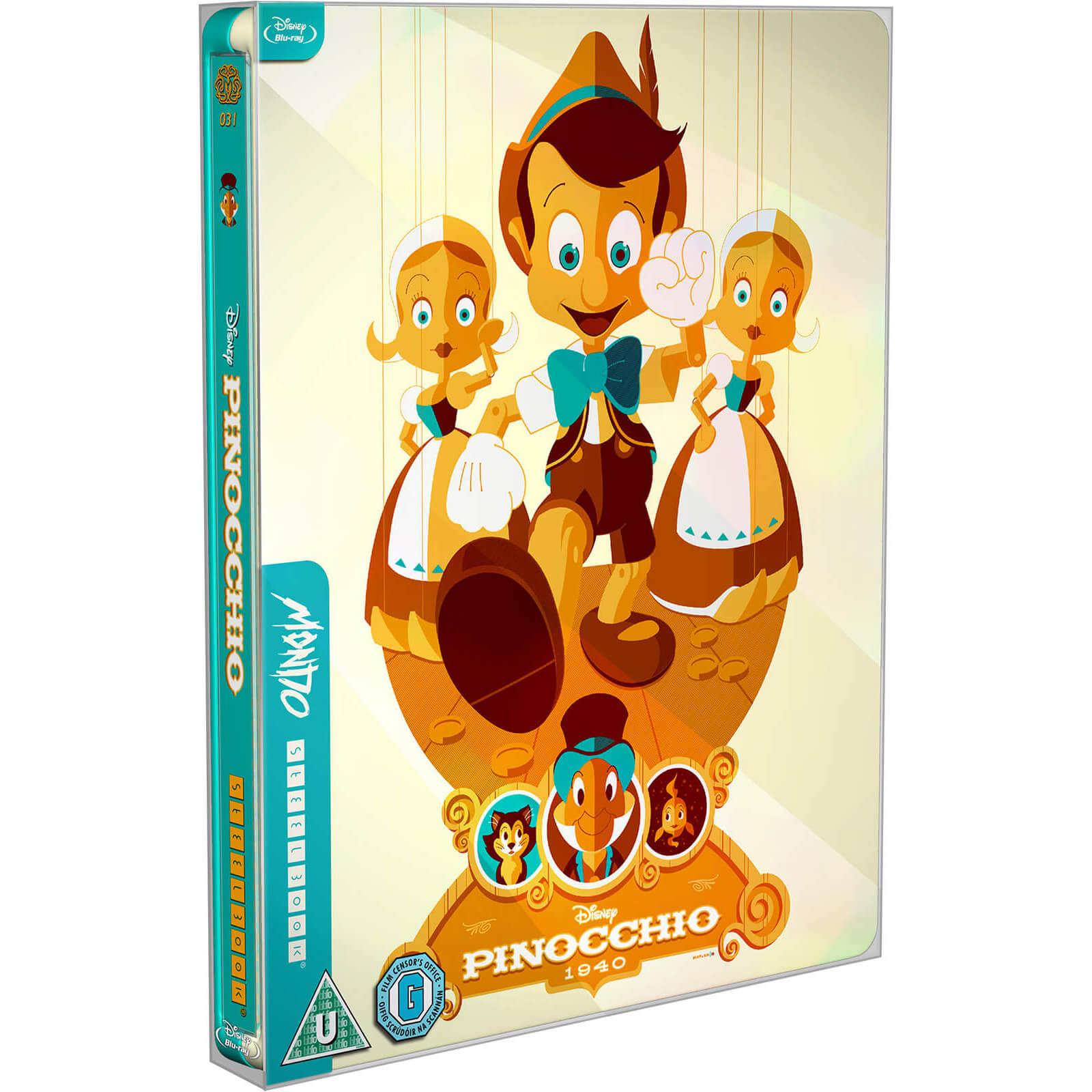 Disney's Pinocchio Limited Edition Steelbook (Blu-ray) £8.99 delivered using code @ Zavvi